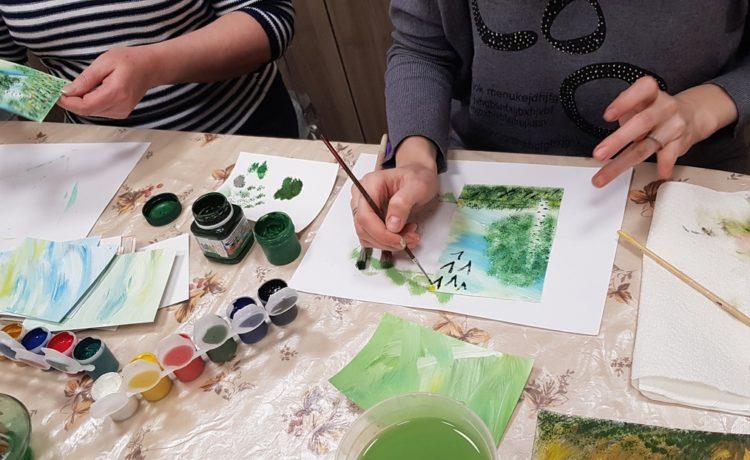 Для интуитивного рисования нет возрастных ограничений! И хотя многие взрослые уверены в том, что они совсем не умеют рисовать, это не так!